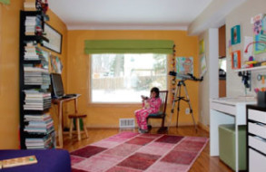 From Play Room to Studio & Entertainment Room